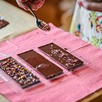 Kreativ mit Schokolade