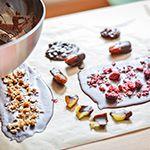 Bunte Schokoladen Vielfalt